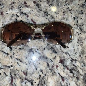 Authentic Gold Framed Cazal Sunglasses